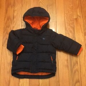 Little Boy's Old Navy Warm Winter Hooded Jacket